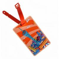 Buy cheap Cool Canton Tower Soft PVC ID Name Label Luggage Tag / Suitcase Name Tag For  Travel Souvenir from wholesalers