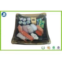 Buy cheap Biodegradable Plastic Food Packaging Trays Sushi Tray With Clear Lid product