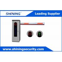 High Integrated Parking Lot Barrier Gate / Parking Boom Gates With Loop Detector