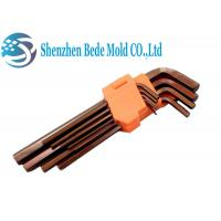 Buy cheap 9PCS Flat End Hex Key Wrench Set Hexagon Wrench Key 1/16 5/64 3/32 1/8 5/32 Size from wholesalers