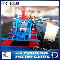 Buy cheap Automatic Light duty rack roll forming machine,Storage rack and shelf keel roll forming machine,Control System:Mitsubish from wholesalers