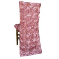 Buy cheap rose ribbon chair back cover from wholesalers