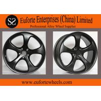 Gloss Black Forged Aluminum Motorcycle Wheels Magnesium Car Wheels