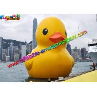Buy cheap World Biggest PVC Rubber Inflatable Duck , Customised Airsealed Sport Inflatables from wholesalers