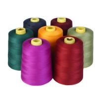 Buy cheap Pagoda Synthetic Sewing Thread , Hemming Polyester Sewing Machine Thread from wholesalers