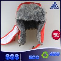 Buy cheap Mens Winter Hat With Brim And Ear Flaps , Plastic Closure Winter Wool Hats For Men from wholesalers