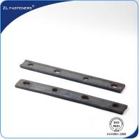 Buy cheap Portable Railway Track Fish Plate / Railroad Joint Bars For Track Joint 	    from wholesalers