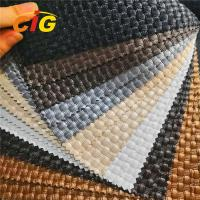 Buy cheap Crystal Surface Pvc Artificial Leather High Tear Fastness For Furnitures Chairs from wholesalers