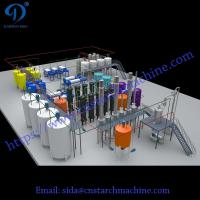 Buy cheap Fast delivery corn glucose syrup machine professional cassava glucose syrup production line from wholesalers