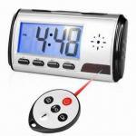 Buy cheap Remote Control Spy Camera Clock, Video Recorder Gadget, Motion Sensor Camera Alarm Clock Function from wholesalers