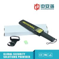 Buy cheap Portable Hand Held Metal Detector , Black - Ideal Security Device Super Scanner product