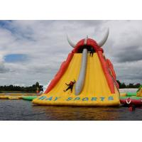 Buy cheap Huge Inflatable Floating Water Slide For Kids Or Adults / Outdoor Inflatable Water Park from wholesalers