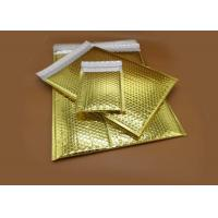 Buy cheap Custom Printing Silver Metallic Bubble Mailers 6*9 inch Size from wholesalers
