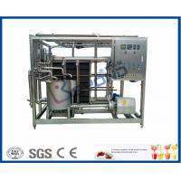 Buy cheap High Temperature Sterilization Uht Processing Equipment , Milk Production Plant from wholesalers