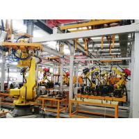 Buy cheap Tow Crane Robot Production Line For Building Industry Stable Performance from wholesalers