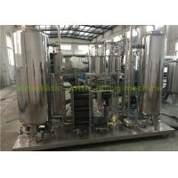 Buy cheap Industrial CO2 Gas Carbonated Drink Automatic Drink Mixing Machine With 3000L Three Tanks from wholesalers