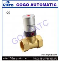 Buy cheap 2/2 Way Piston Operated Pneumatic Air Control Valve For Air / Water / Oil Working Medium from wholesalers