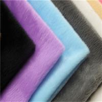 Buy cheap soft toy fabric suppliers micro velboa/velvet fabric velboa fabric for winter from wholesalers