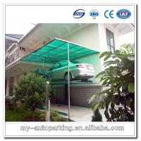 Buy cheap Manual Car Parking Lift Mechanical Lifting Devices Parking Lift System from wholesalers