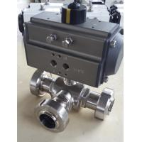 Buy cheap rack and pinion pneumatic rotary actuator air consumption control for valves from wholesalers