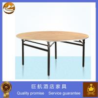 Buy cheap 6ft Round Folding Table For Hotel from wholesalers