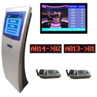 Buy cheap Electronic Queuing Token Number Waiting System Integrated With Centralized LCD/TV Display from wholesalers