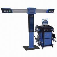 Buy cheap 3D Wheel Aligner with Golden Eye Drive-in Location System product