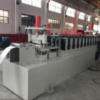 Buy cheap C Channel Cable Tray Roll Forming Machine , Cable Trunking Cover Metal Roll Forming Machines product