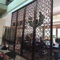 Buy cheap Restaurant wall divider metal screen stainless steel room divider screen from wholesalers