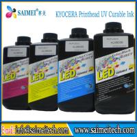 Buy cheap Best quality LED Curing UV Ink Made Ink TaiWan For KYOCERA & Ioshiba UV Printhead from wholesalers