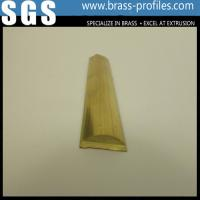 China Radial Extruded Brass Bar / Arc Extruding Sheet / Curved Copper Rod Manufacturer on sale