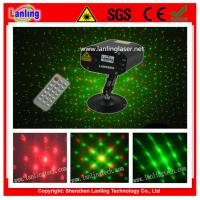 Buy cheap 150mW RG 12Gobos Mini RC Twinkling Laser Light from wholesalers