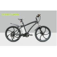 Buy cheap Mens Electric Mountain Bikes 26 Inch Wheel 36V 250W Magnesium Alloy rim from wholesalers