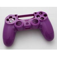 Quality Replacement Top and Bottom Housing Shell Case for Playstation 4 PS4 Controller - Glossy Purple for sale