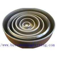 Buy cheap ASME SB366 UNS NO6625 Stainless Steel Pipe Cap 1-48 Inch UNS S32750 from wholesalers