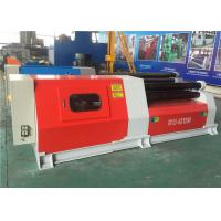 Buy cheap CNC Pre - Bending 4 Roll Small Sheet Metal Plate Bending Machine W12 - 4×1200 from wholesalers
