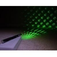 Buy cheap 5mW-200mW 5 Caps Green Laser Pointer+Starriness from wholesalers