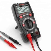 China High Accuracy Automatic Digital Multimeter / Pocket Digital Multimeter Size 151*75*48 mm on sale