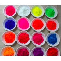Buy cheap daylight fluorescent pigment for leather garment fluorescent pigment from wholesalers