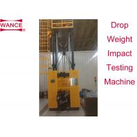 Buy cheap 80000J  Drop Weight Impact Test Machine Tear Tests Of Ferritic Steels API RP 5L3 from wholesalers