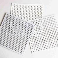 Buy cheap Light Weight Perforated Metal Mesh , Curtain Wall Perforated Steel Plate from wholesalers