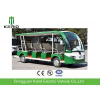 Buy cheap CE Approved Open Top Sightseeing Car 72V AC System 15 Passenger Mini Bus 4 Wheel Electric Vehicle from wholesalers