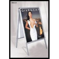 Buy cheap Advertising double sided Aluminium display stand , poster stand A board from wholesalers