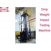 Buy cheap High Efficiency Drop Weight Impact Test Apparatus For Line Pipe Four Columns Supported from wholesalers