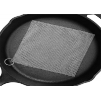 Buy cheap Ring Mesh Chainmail Cast Iron Scrubber For Brushing Pot from wholesalers