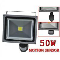 China 50W LED security floodlight with PIR Motion Sensor on sale