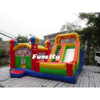 Buy cheap Outdoor Colorful Custom Theme Inflatable Bouncing Castle For Kids 6 L * 5 W * 4 M from wholesalers