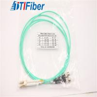 Buy cheap Duplex Fiber Optic Patch Cables Connector Types 2.0MM OM3 Diameter LC/UPC-ST/UPC from wholesalers
