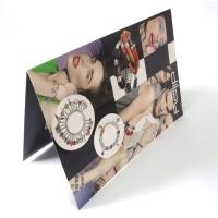 Buy cheap Cheapest full color business Paper folder Colour Flyer Printing services online from wholesalers
