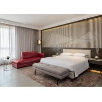Buy cheap Modern Hotel Suite Furniture Set With Fabric / PU / leather Sofa from wholesalers